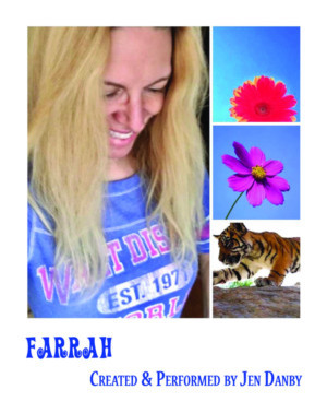 Special Performance of FARRAH Announces for Long Beach, NY Starring Jen Danby, Directed By Austin Pendleton