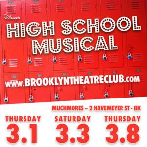Brooklyn Theatre Club Open 2018 Season with DISNEY'S HIGH SCHOOL MUSICAL