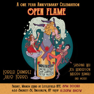 Open Flame Hosts A One Year Anniversary Celebration
