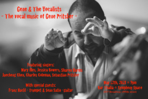 Gene & The Vocalists Presents a Concert of The Vocal Music Of Gene Pritsker