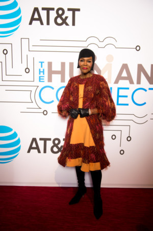 Cicely Tyson Honored At AT&T Campaign Around Connectivity In The Wake Of The 50th Anniversary Of Dr. King's Assassination