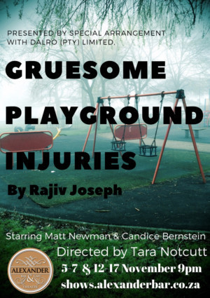 GRUESOME PLAYGROUND INJURIES To Make Its South African Debut