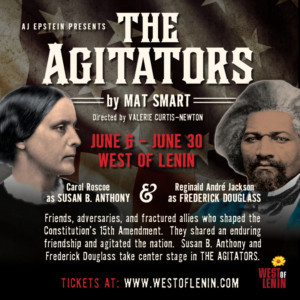 THE AGITATORS By Mat Smart Comes to Seattle