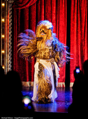 Geek Out With Wookiee Bellydance In An Underground Theatre