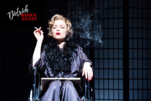 DIETRICH RIDES AGAIN Plays The United Solo Theater Festival