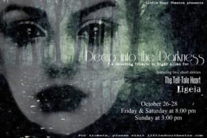 Little Door Theatre Performs Edgar Allan Poe Tribute, DEEP INTO THE DARKNESS]