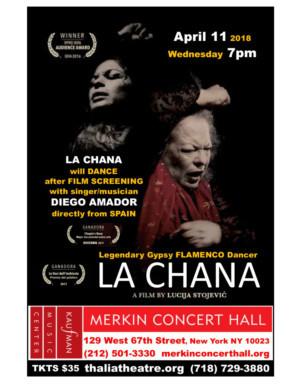 Kaufman to Host Screening & Live Performance of LA CHANA
