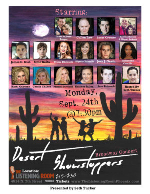 Stars Come Together in Desert Showstoppers Broadway Concert