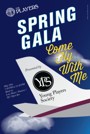 The Players To Hold Spring Gala 'Come Fly With Me'