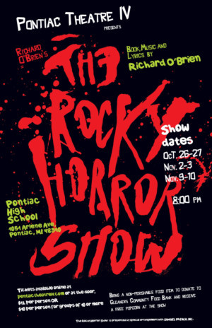 Pontiac Theatre IV Gears Up To Do The Time Warp Again In Richard O'Brien's THE ROCKY HORROR SHOW