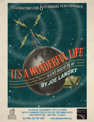 Enceladus Theatre to Raise Funds with IT'S A WONDERFUL LIFE: A Live Radio Play