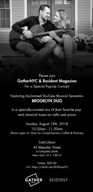 GatherNYC & Resident Magazine Present An Exclusive Summer Pop-Up