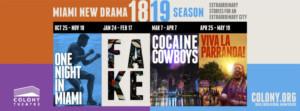 Miami New Drama Announces It's 2018/2019 Season