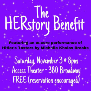 New Light Theater Project And Pocket Universe Join Forces For The HERstory Benefit