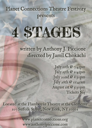 Anthony J. Piccione Brings Greed, Corruption, Politics, and REVOLUTION to the Stage