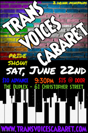 Celebrate World Pride With TRANS VOICES CABARET