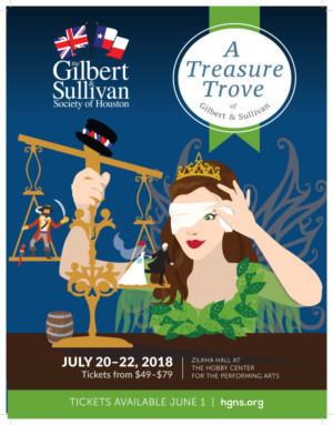 Houston Gilbert And Sullivan Society Presents A Treasure Trove Of Gilbert And Sullivan