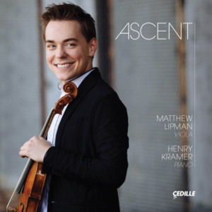 Violist Matthew Lipman Makes Cedille Records Debut Featuring World-Premiere Recording Of Shostakovich's Impromptu, Op. 33