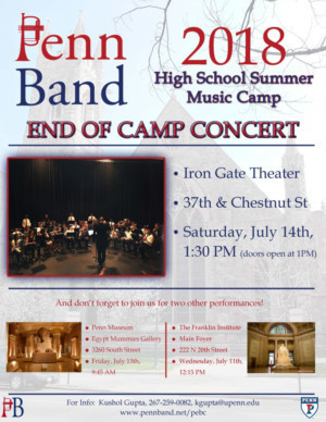 Musicopia Partners With Penn Band Camp