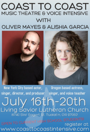 Coast To Coast Music Theatre & Voice Intensive Announces Inaugural Summer Session
