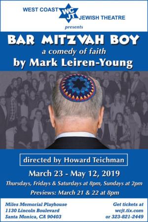 BAR MITZVAH BOY Opens March 23 At Miles Memorial Playhouse