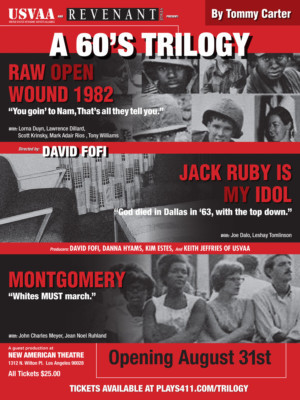 A 60'S TRILOGY Is First Production Of New USVAA Veteran's Repertory
