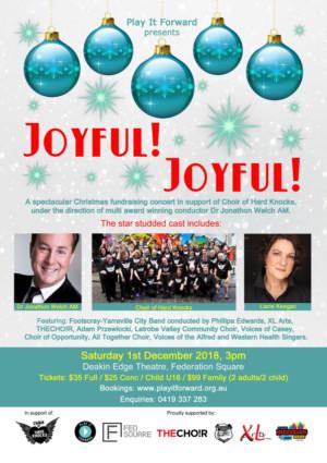 'Joyful! Joyful!' Concert Celebrates Christmas and Community