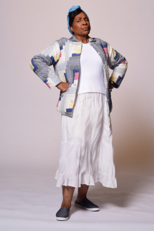 DeEtta West, Sister Of Cleavon Little, Winner Of The Tony Award For His Role In Purlie, Is Featured As Idella In Purlie