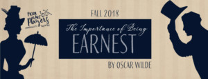 Prior Lake Players Present THE IMPORTANCE OF BEING EARNEST