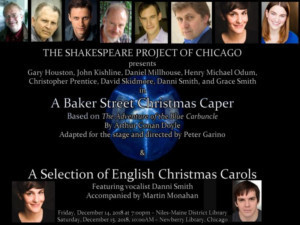Shakespeare Project Of Chicago Presents A BAKER STREET CHRISTMAS CAPER