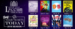 Single Tickets Now On Sale For The Arrow Rock Lyceum Theatre's 2019 Season