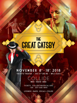Cast Announced For Collide Theatrical's World Premiere Dance Musical THE GREAT GATSBY