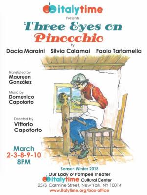 italytime presents a New Play by Dacia Maraini, Silvia Calamai and Paolo Tartamella