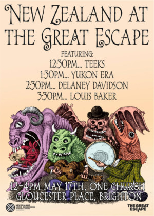 New Zealand Musicians Join The Great Escape 2018