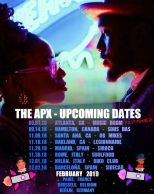 The APXAnnounces First International Tour