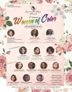 The 2nd Annual Women of Color Empowerment Brunch Announced