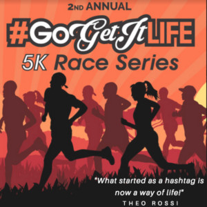 Louie's Legacy Animal Rescue Partners with Theo Rossi & Go Get It Life 5K Race Series