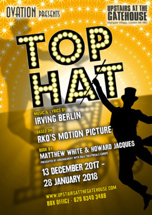 Full Casting Announced for TOP HAT at Upstairs at the Gatehouse