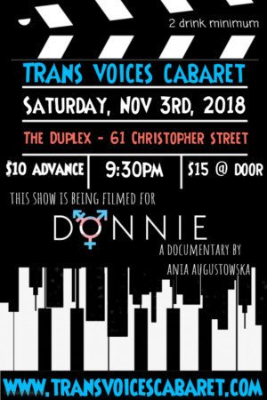Trans Voices Cabaret Announces One Year Anniversary Show