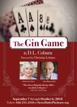 THE GIN GAME Opens September 8 At Sierra Madre Playhouse