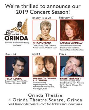 Rita Moreno Opens Live At The Orinda 2019 Season