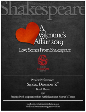 Madison Shakespeare Co Offers Love Tales To Warm A Cold, Dark December