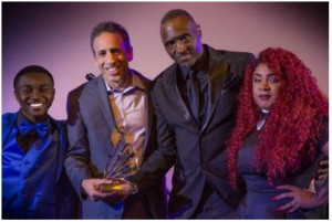 "Sound Royalties CEO Alex Heiche Honored With Writing Sessions America's First Annual ""Stepping Up Philanthropist Of The Year Award 2018"""
