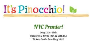 IT'S PINOCCHIO! Announces NYC Premier Production