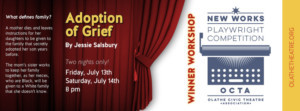 New Works Playwright Competition Winner Workshop Comes to OCTA