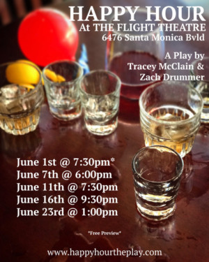 HAPPY HOUR PLAY Comes to Hollywood Fringe!