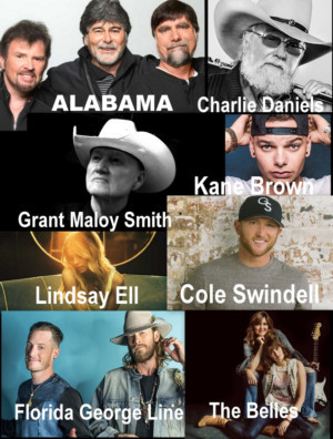 Stars And Emerging Artists Shine Bright At Kicker Country Stampede