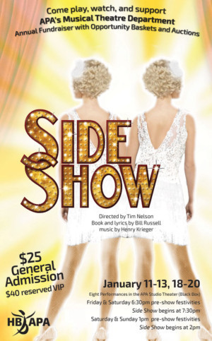 APA's Musical Theatre Department Presents SIDE SHOW