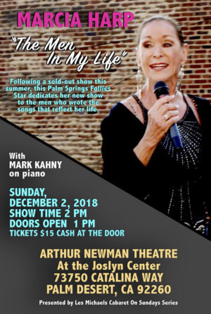 Marcia Harp To Debut New Cabaret Show At Arthur Newman Theater
