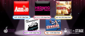 Pittsburgh Musical Theater Announces 2018-2019 Seize The Stage Season - NEWSIES, IN THE HEIGHTS, and More!